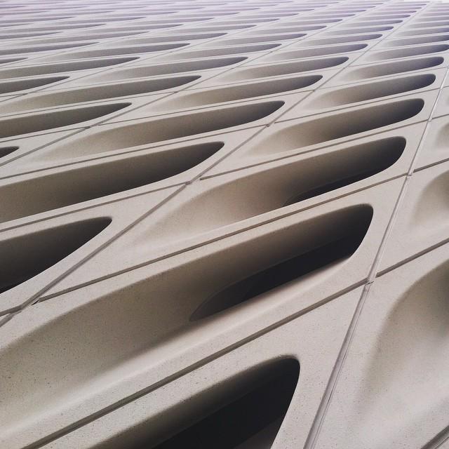 """Enjoying this fucking architecture museum called LA"" - Noah"